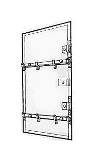Barre De Sécurité Pour Porte Anti Effraction Contre Les Cambriolages - Barre anti effraction porte
